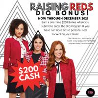 Raising Red DIQ Bonus